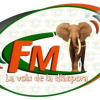 Logo of radio station La Voix de la Diaspora