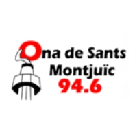 Logo of radio station Ona de Sants Montjuic