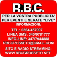 Logo of radio station RBC Grosseto
