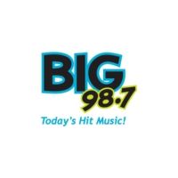 Logo of radio station KLTA Big 98.7