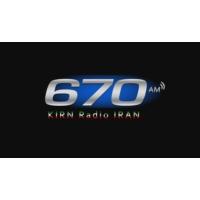 Logo de la radio KIRN Radio Iran 670 AM