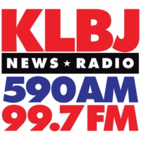 Logo of radio station KLBJ News Radio