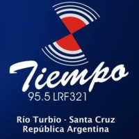 Logo of radio station FM Tiempo 95.5 MHz