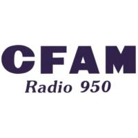 Logo of radio station CFAM Radio 950