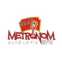 Logo of radio station Radio Metronom
