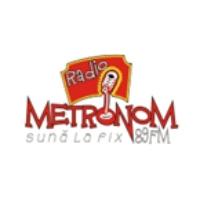 Logo of radio station Radio Metronom