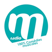 Logo of radio station M RADIO 100% COMEDIES MUSICALES