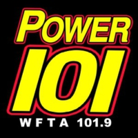 Logo of radio station WFTA Power 101.9