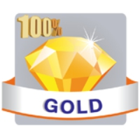 Logo de la radio Jawhara FM - 100 % Gold