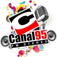 Logo of radio station Radio Canal 95