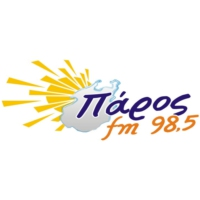 Logo of radio station Πάρος FM 98.5