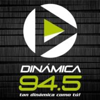 Logo of radio station Dinámica 94.5 FM