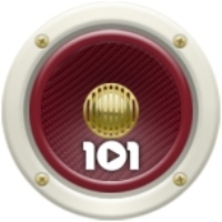 Logo of radio station 101.ru - Queen