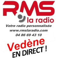 Logo of radio station RMS VEDENE
