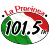 Logo of radio station KIZS La Preciosa