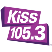 Logo of radio station CISS-FM KISS 105.3