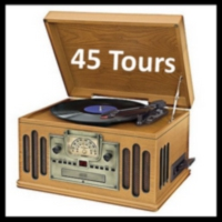 Logo of radio station 45 tours