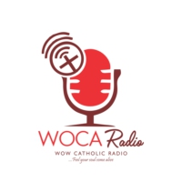 Logo of radio station WOCA Radio - wowcatholic