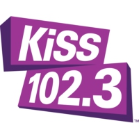 Logo of radio station CKY-FM KiSS 102.3