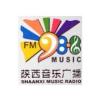 Logo of radio station Shaanxi Xi'an Music Radio 98.8