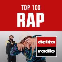 Logo of radio station delta radio TOP 100 RAP