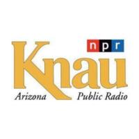 Logo of radio station KNAU Arizona Public Radio