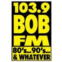 Logo of radio station KBBD Bob 103.9
