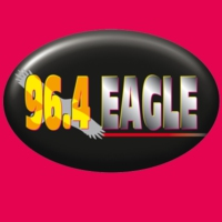 Logo de la radio 96.4 Eagle