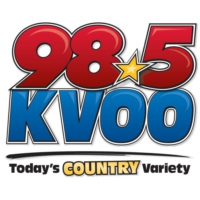 Logo of radio station KVOO