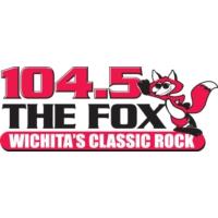 Logo of radio station KFXJ 104.5 The Fox