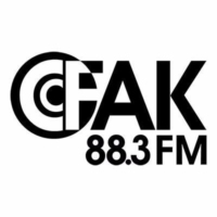 Logo of radio station CFAK 88.3 FM