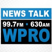 Logo of radio station NewsTalk 99.7 & AM 630 WPRO