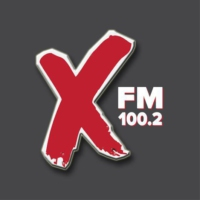 Logo of radio station X FM 100.2