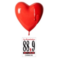 Logo of radio station La Romantica 88.9 FM