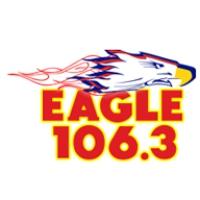 Logo of radio station KYGL Eagle 106.3