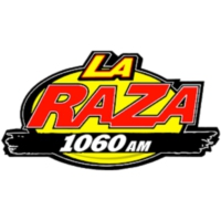 Logo of radio station XERDO-AM La Raza 1060