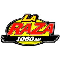 Logo of radio station XERDO-AM La Raza 1060