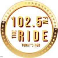 Logo of radio station 102.5 The Ride