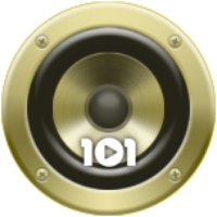 Logo de la radio 101.ru - ABBA
