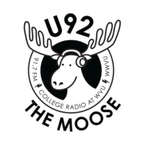 Logo of radio station WWVU U92 The Moose