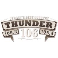 Logo of radio station WTHJ 106.5 Thunder 106