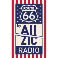 Logo of radio station Allzic Radio ROAD 66