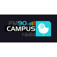 Logo of radio station FM90 Campus Rádió Debrecen