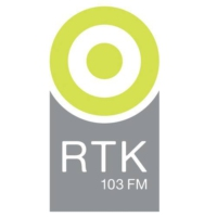 Logo of radio station RTK 103FM
