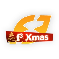 Logo of radio station Fréquence 3 XMas
