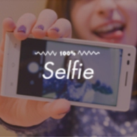 Logo de la radio 100FM - Selfie