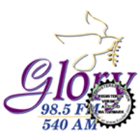Logo of radio station WBZF Glory 98.5