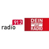 Logo of radio station Radio 91.2 – Dein DeutschPop Radio