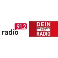 Logo of radio station Radio 91.2 – Dein DeutschPop Radio
