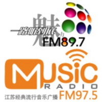 Logo of radio station 江苏音乐魅力897 - Jiangsu Music 897